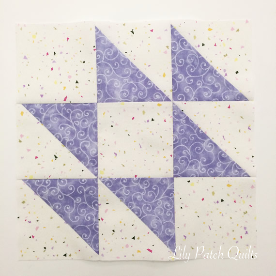 Lily Patch Quilts More Purple Quilt Blocks