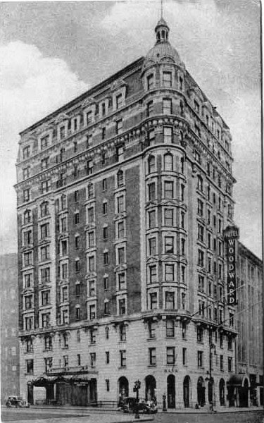 Daytonian In Manhattan The 1904 Hotel Woodward