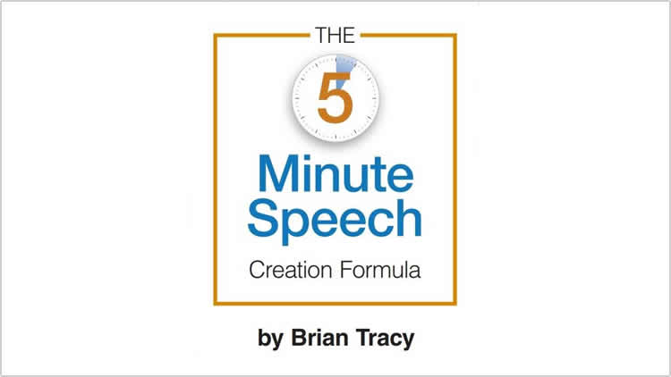 The 5 Minute Speech Creation Formula - 100% Free eBook