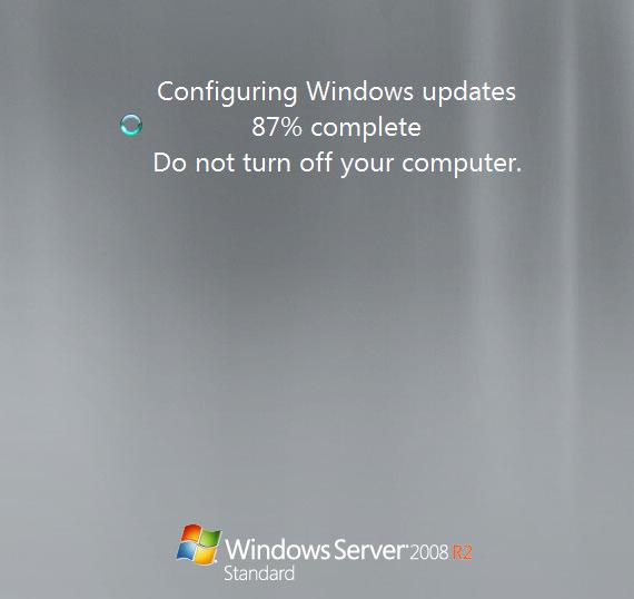 Reiniciar el equipo, para que configure las actualizaciones del sistema que hemos aplicado.