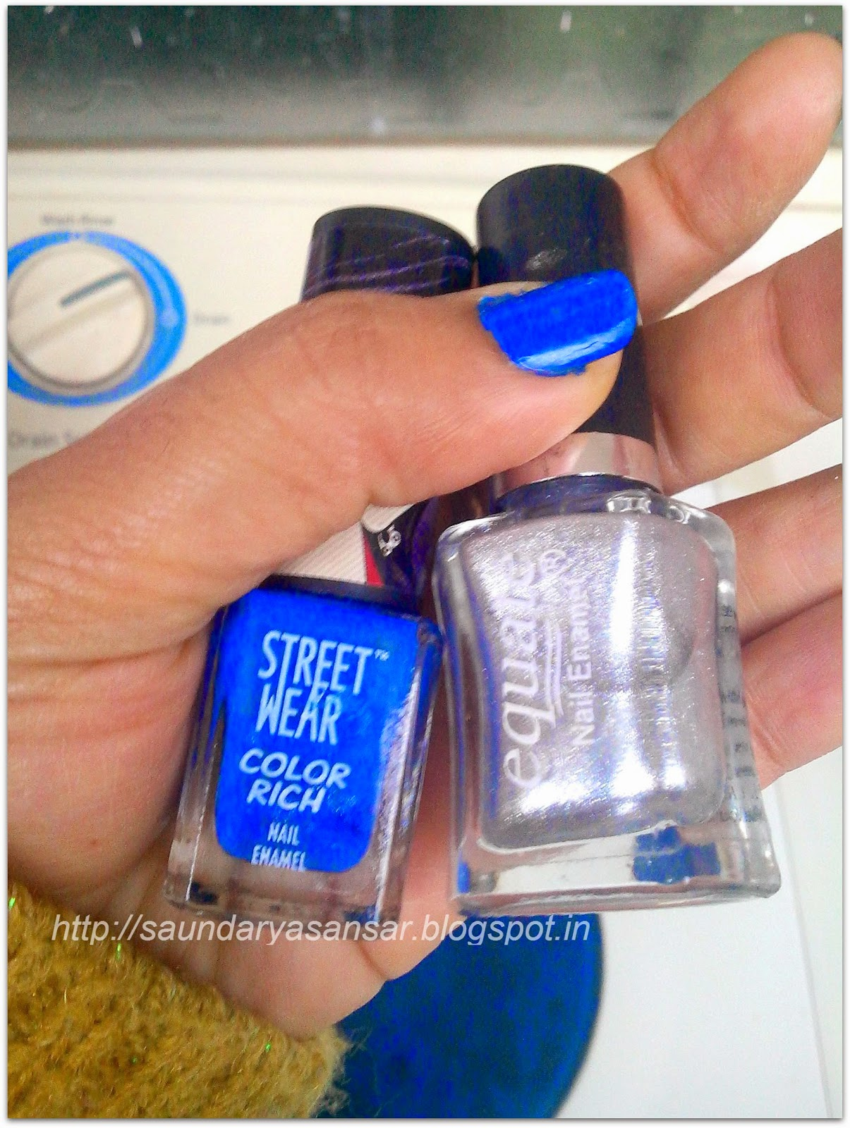 Street Wear Color Rich and Equate Nail Enamel review