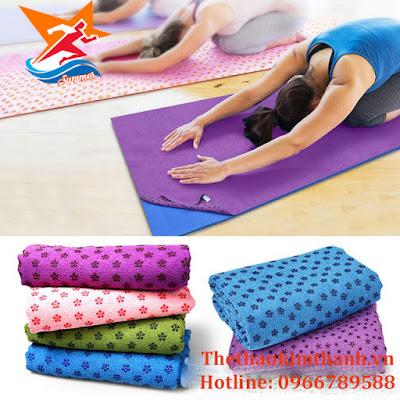 Công dụng khăn trải thảm yoga