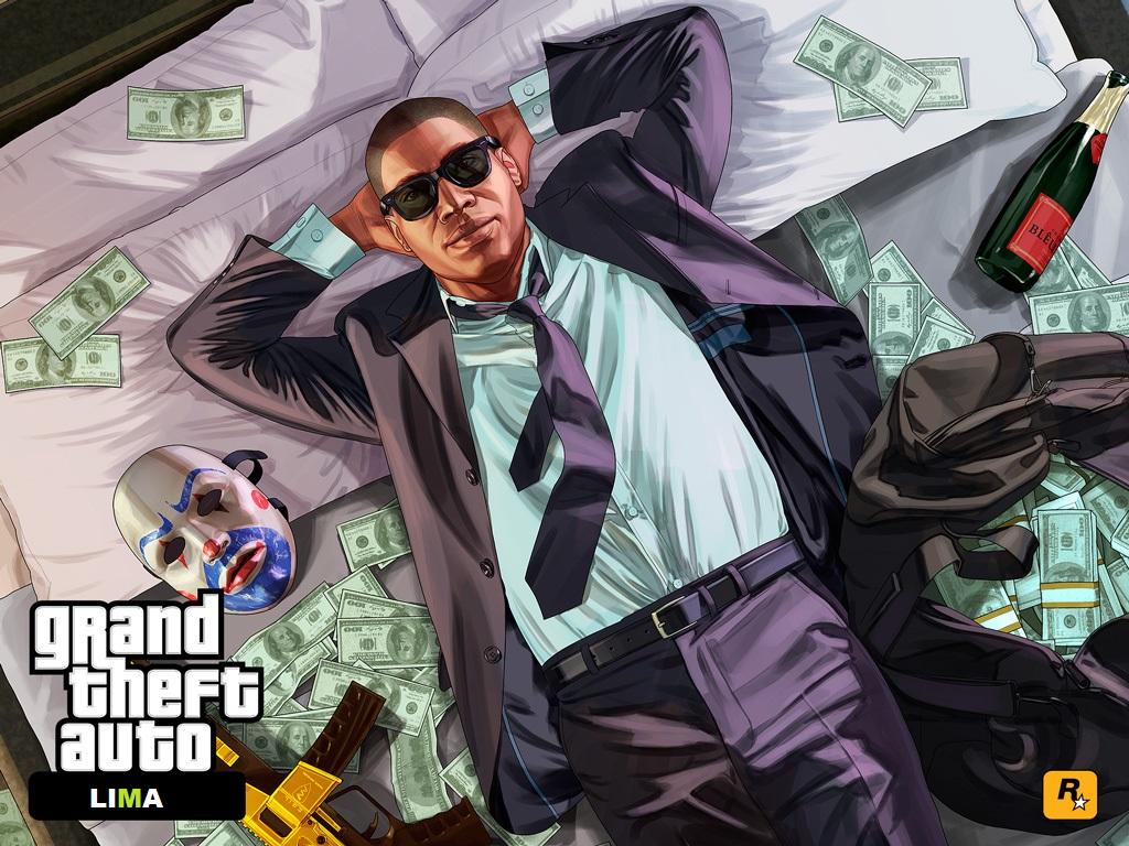 Cara mendapatkan sejumlah besar uang di game GTA V (Guide