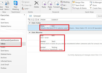 All about SharePoint: Copy Outlook data to SharePoint online