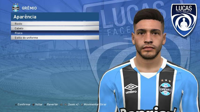 Filipe Machado Face PES 2017