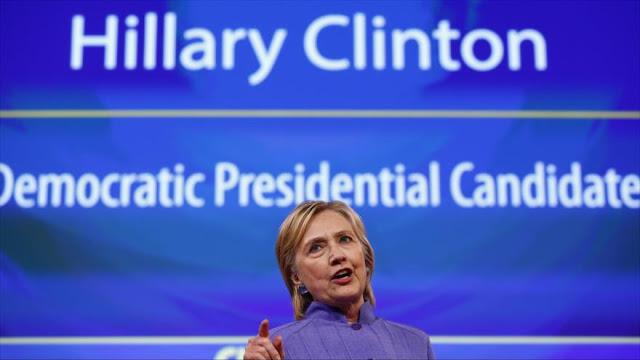 "Clinton amenaza a Rusia con ""respuesta militar"" a ciberataques"