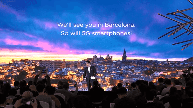 Huawei's previous announcement