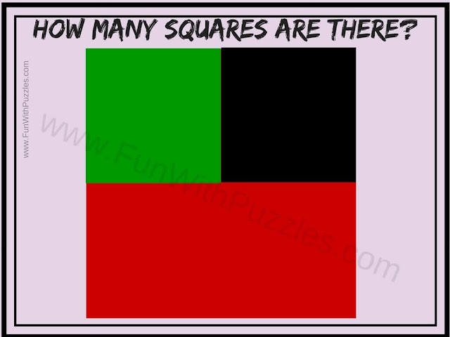 Count the number of Squares Picture Puzzle