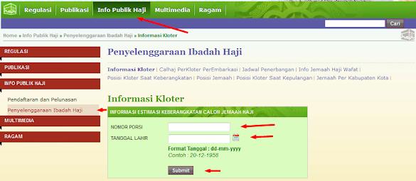 Cara Cek Daftar Tunggu Haji Sistem Online