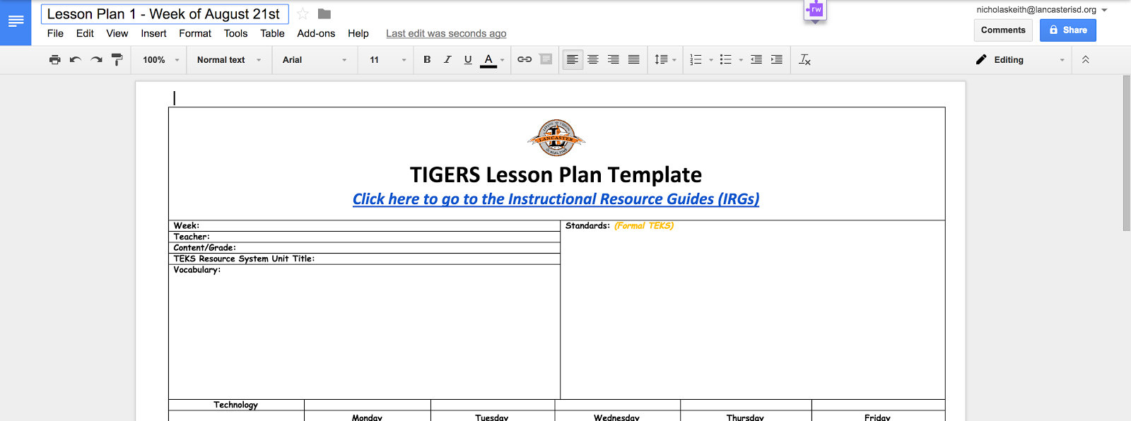 Texas [Ed]Tech: Using Google Team Drives to Create and Share Lesson ...