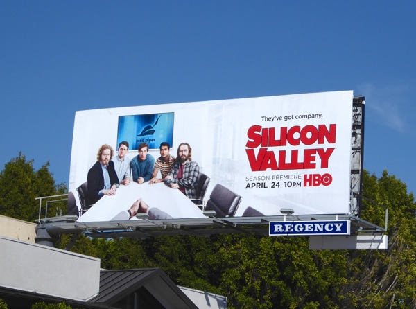 Silicon Valley season 3 billboard