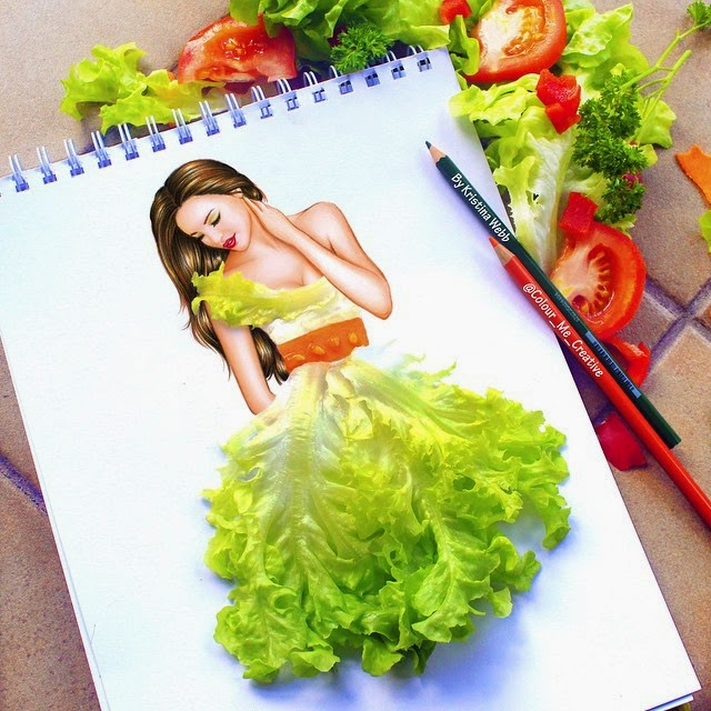 07-Healthy-Eating-Kristina-Webb-Colour-me-Creative-Drawings-www-designstack-co