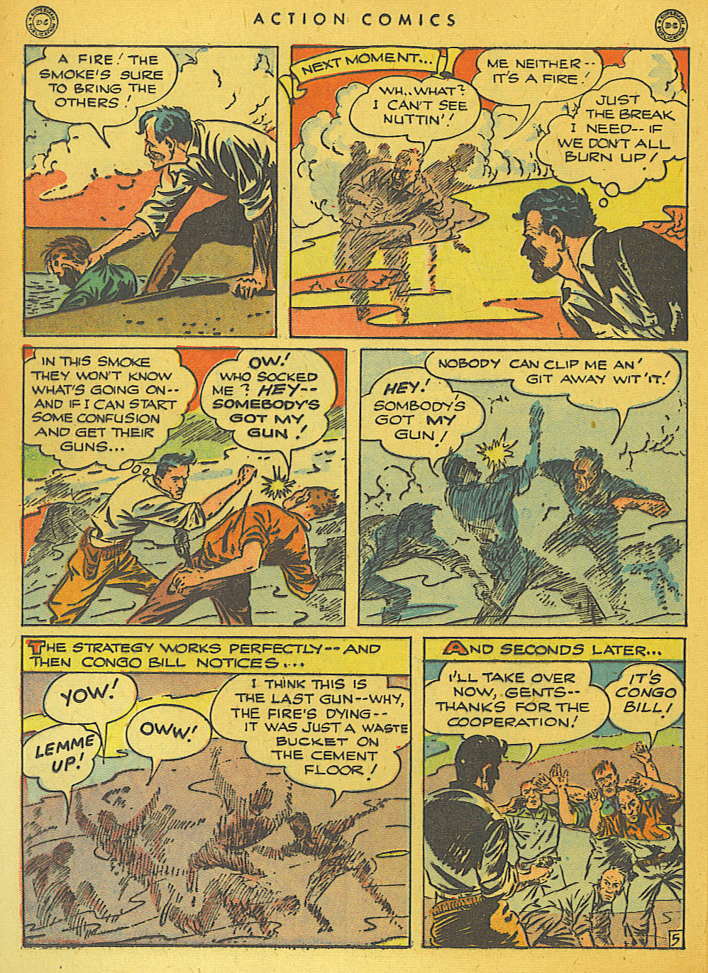 Read online Action Comics (1938) comic -  Issue #74 - 36
