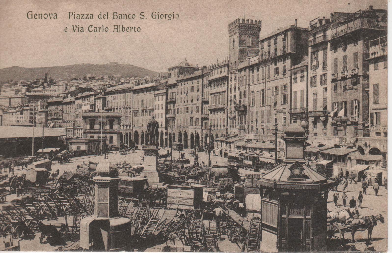 C 39 era una volta genova genova piazza caricamento - Genova porta principe ...