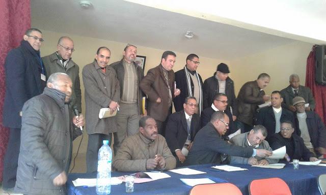 تأسيس المجلس الجهوي بدرعة تافيلالت للجمعية الوطنية لمديرات ومديري التعليم الابتدائي بالمغرب