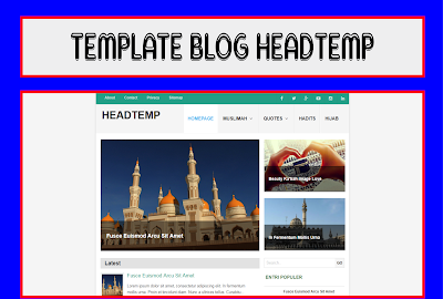 HeadTemp Blogger Template Responsive Free Download