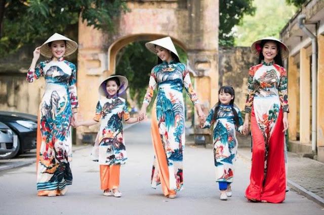 Các mẫu đồng phục áo dài đẹp và phổ biến nhất hiện nay