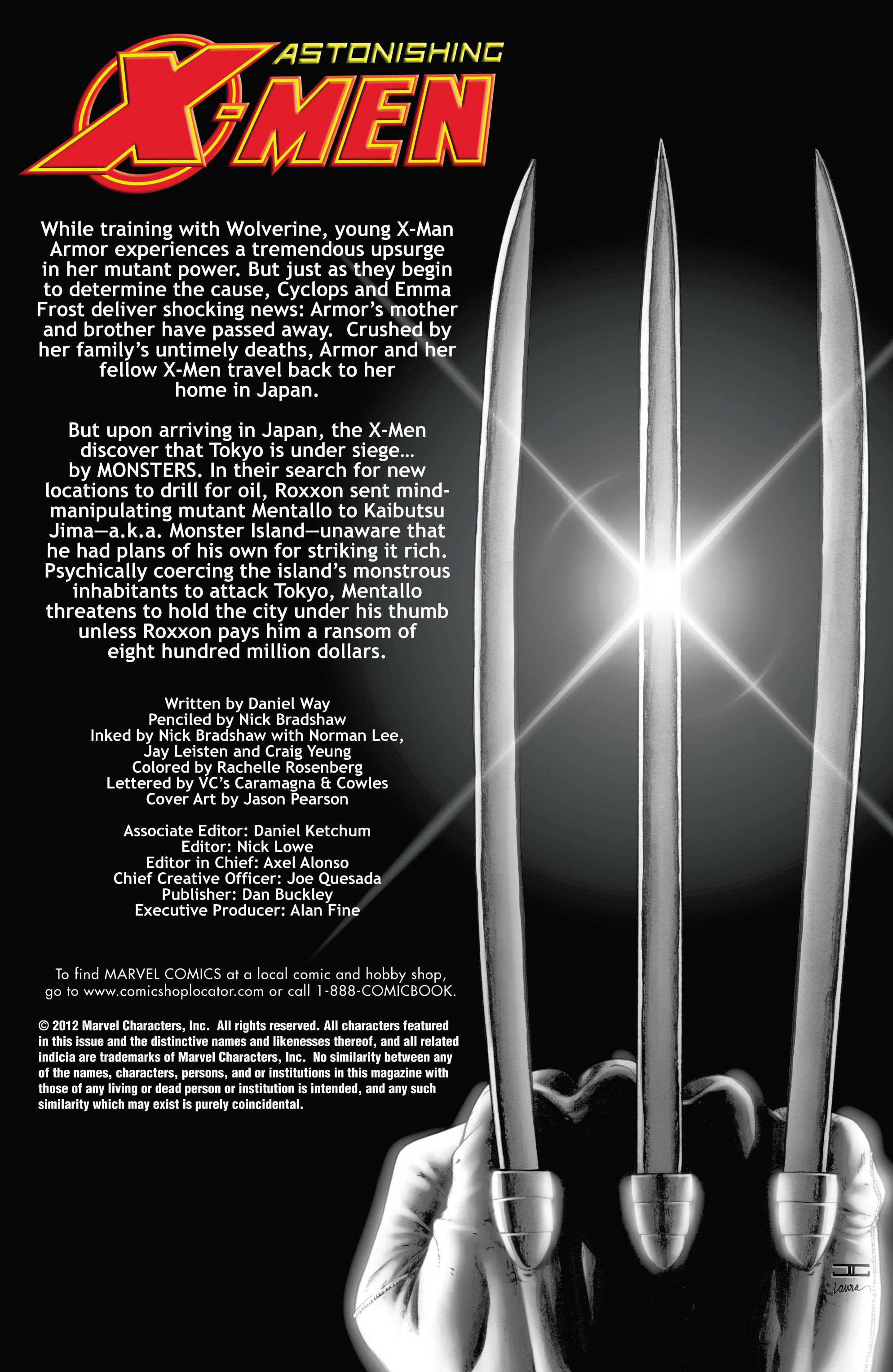 Read online Astonishing X-Men (2004) comic -  Issue #39 - 2