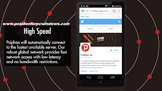Features Of psiphon Apk