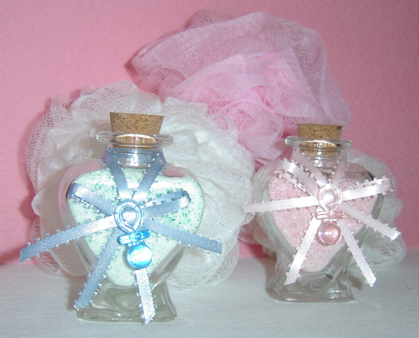 Baby Shower: Homemade Baby Shower Favors
