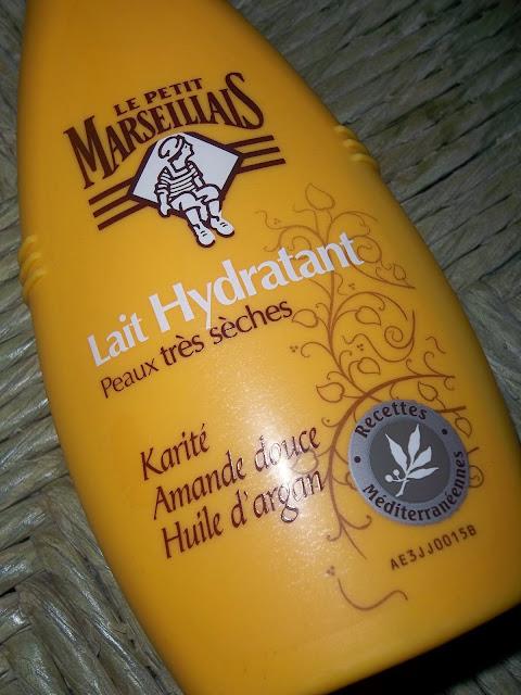 Lait Hydratant Karité, Amande Douce et Huile d'Argan - Le Petit Marseillais