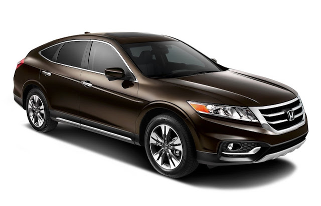 2014 Honda Crosstour brown