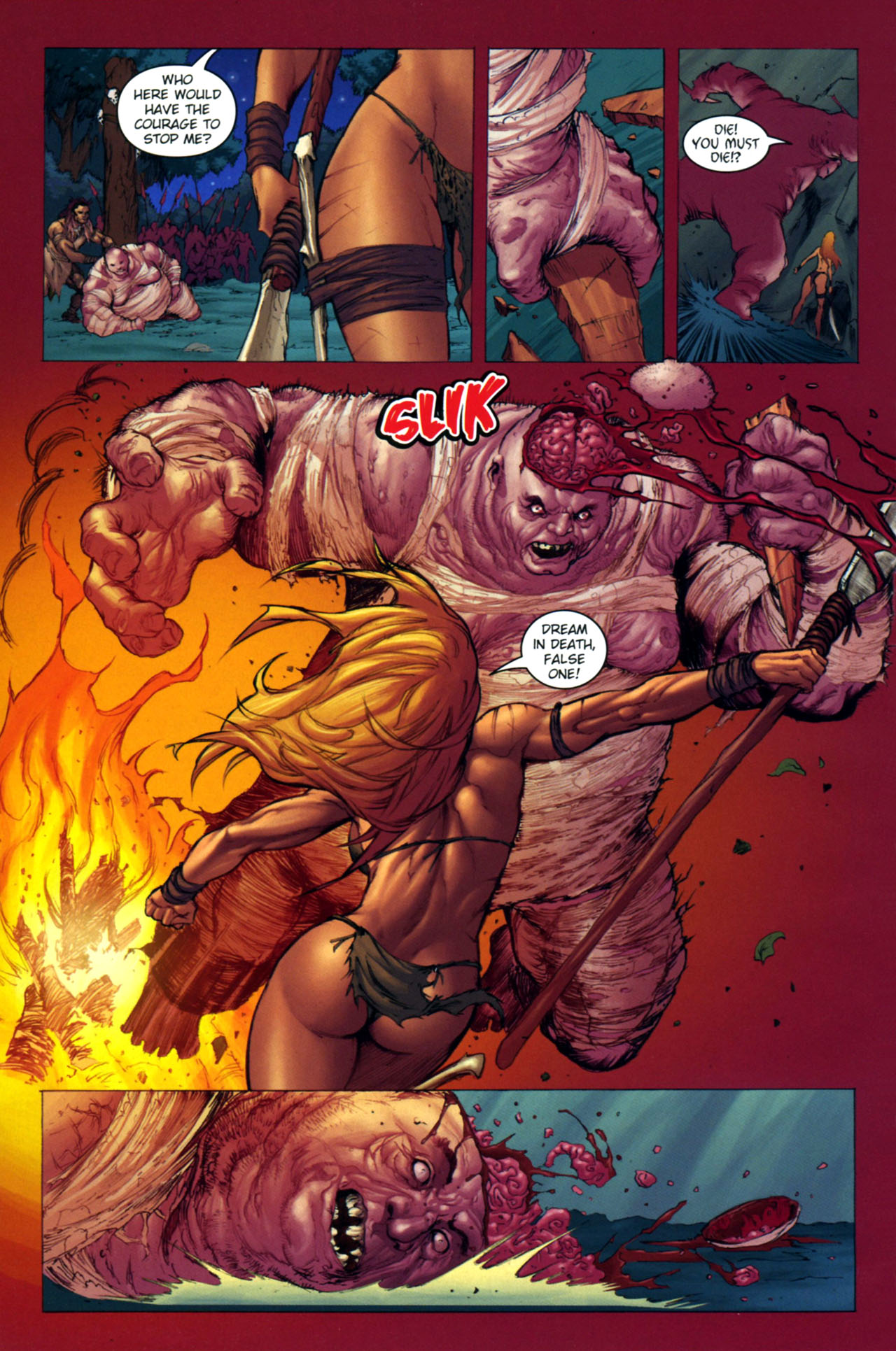 Read online Jungle Girl comic -  Issue #4 - 13