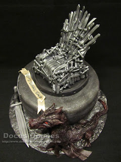 Game Of Thrones cake dragon