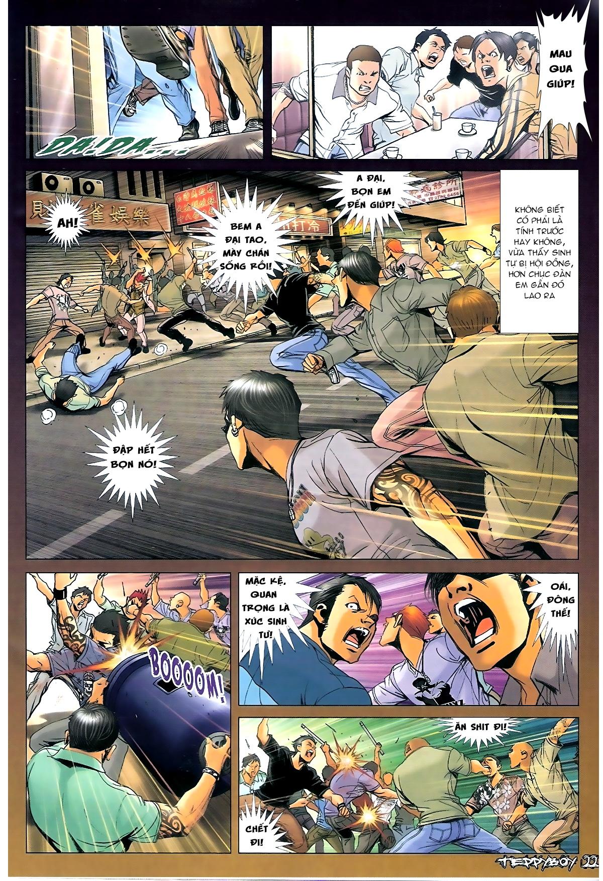 Người Trong Giang Hồ - Chapter 1350: Chơi tới cùng 2 - Pic 18