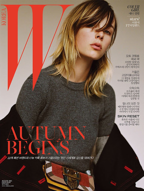Fashion Model, @ Edie Campbell for W Korea August 2016