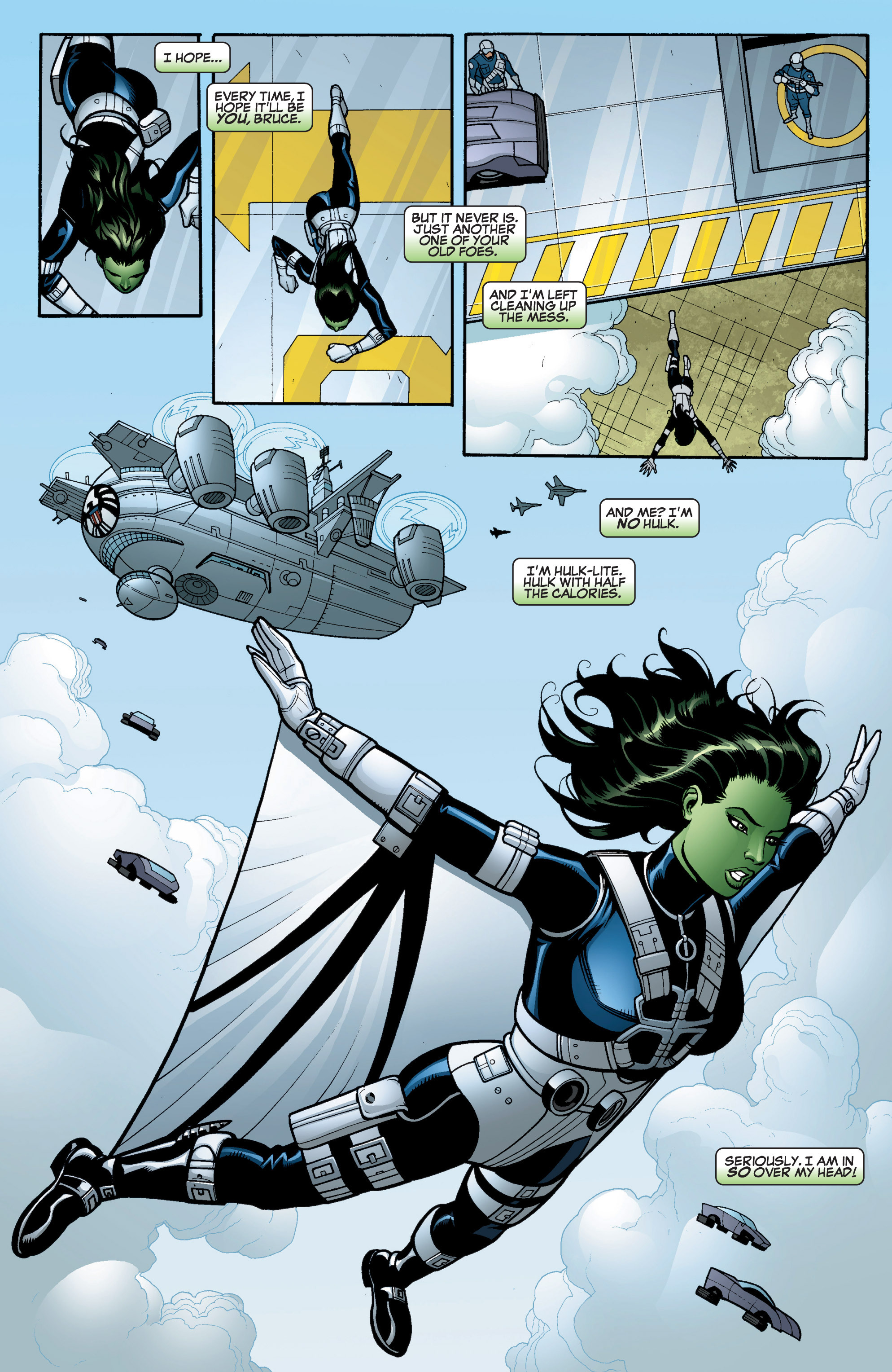 Read online She-Hulk (2005) comic -  Issue #15 - 7