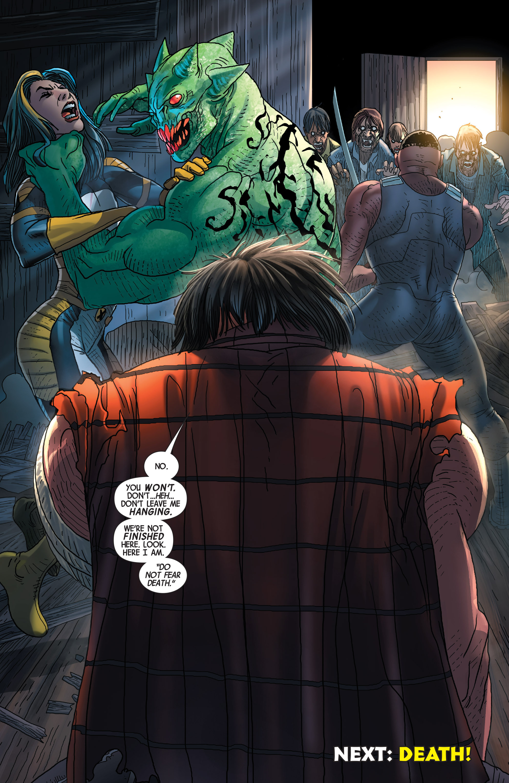 Read online Wolverines comic -  Issue #14 - 22