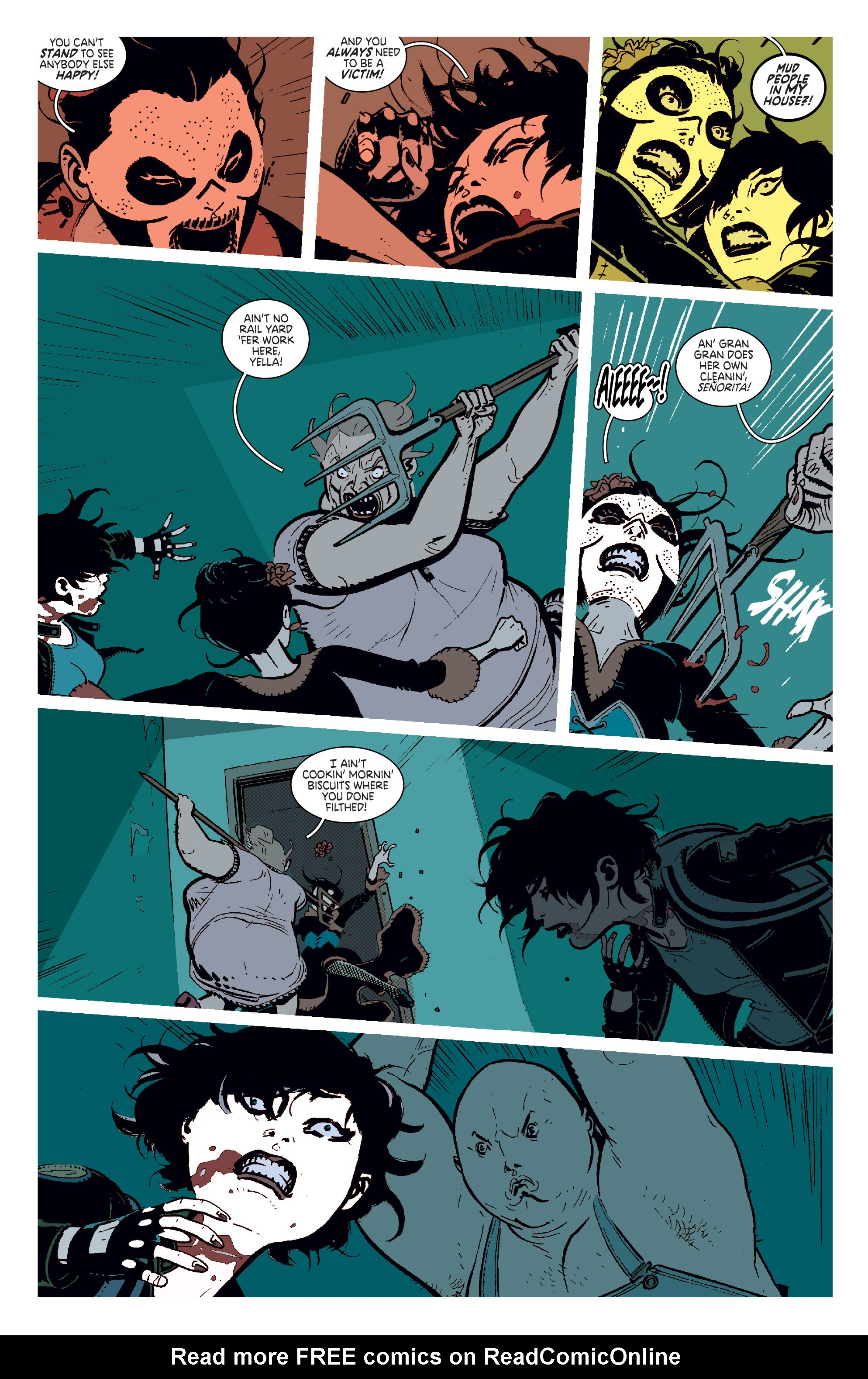 Read online Deadly Class comic -  Issue #11 - 8