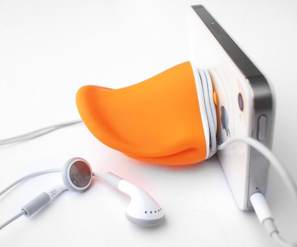 Diseño de accesorio para iPhone.
