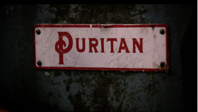Puritan Sewing Machine Name plate