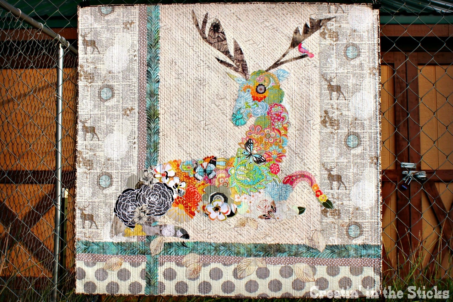 Creatin' in the Sticks: My Dear- Oh Deer Collage Quilt : photo collage quilt - Adamdwight.com