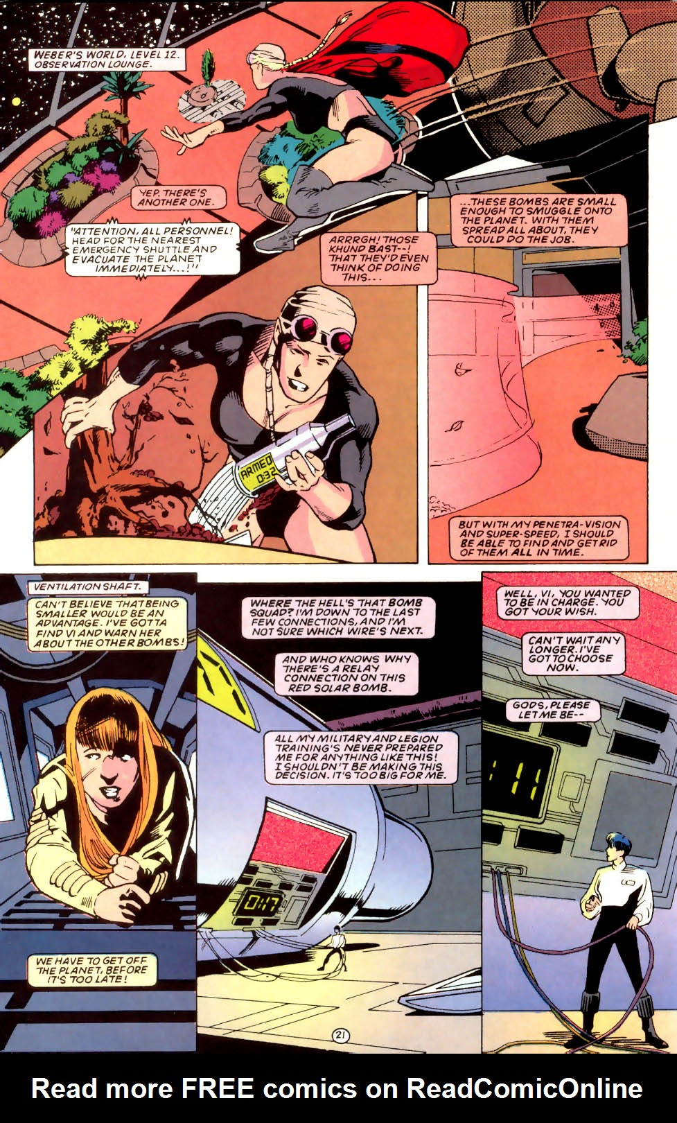 Legion of Super-Heroes (1989) 58 Page 21