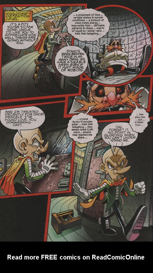 Read online Sonic The Hedgehog comic -  Issue #204 - 17