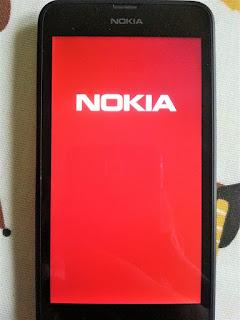 lumia 625 red nokia logo screen stuck fixed