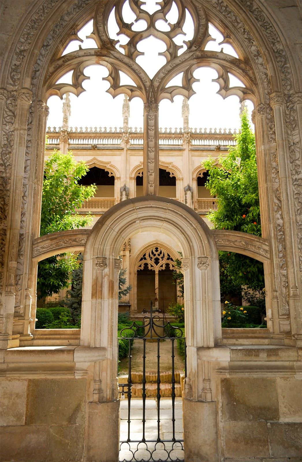 monastery cloister san juan reyes toledo spain landmark history travel guide tourism day trip itinerary