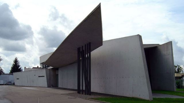 bangunan yang wajib dikunjungi di jerman vitra fire station
