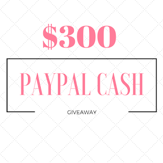 Enter the $300 PayPal Cash Giveaway. Ends 5/9