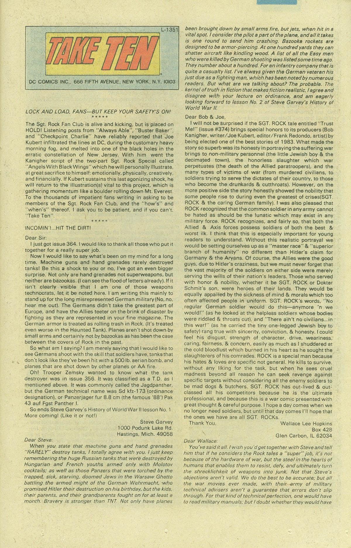 Read online Sgt. Rock comic -  Issue #378 - 24