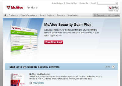 mcafee online virus scanner