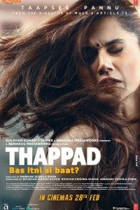 Download Thappad (2020) Hindi Movie 720p [1.4GB]