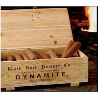Des allume-feux en forme de bâtons de dynamite.