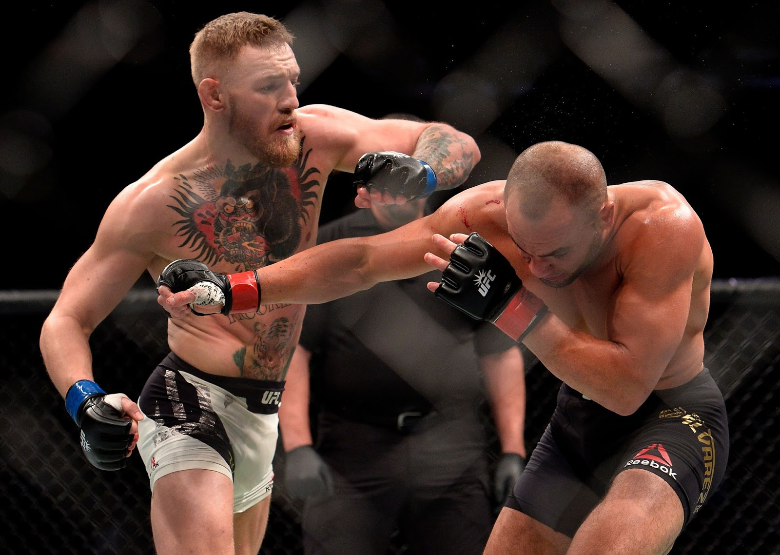 Monster Energy's Conor McGregor Makes History By Knocking Out Eddie Alvarez to Claim His Second ...