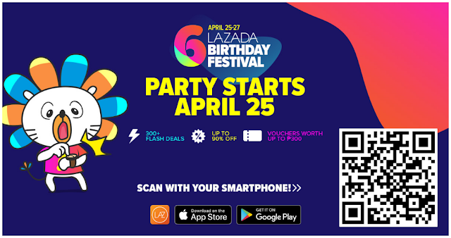 Lazada Birthday Flash Sale 2018