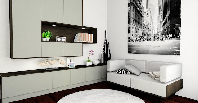 Family room design - Meridian Interior Design