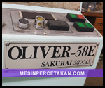 Sakurai Oliver 58E
